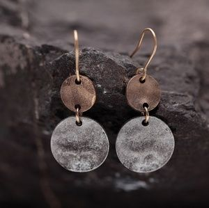 Jewelry - Silver and Copper Earrings
